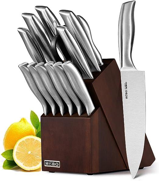 Compra HOBO Juego de Cuchillos, Juego de Cuchillos de Cocina 14 ...