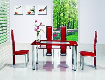 Designer Italien Petite Table Salle A Manger En Verre
