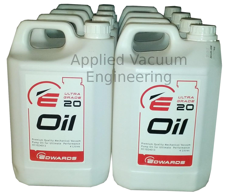 Edwards ultragrade 20 Bomba de vacío aceite 4 litros. Lubricante Ultra grado 20: Amazon.es: Coche y moto