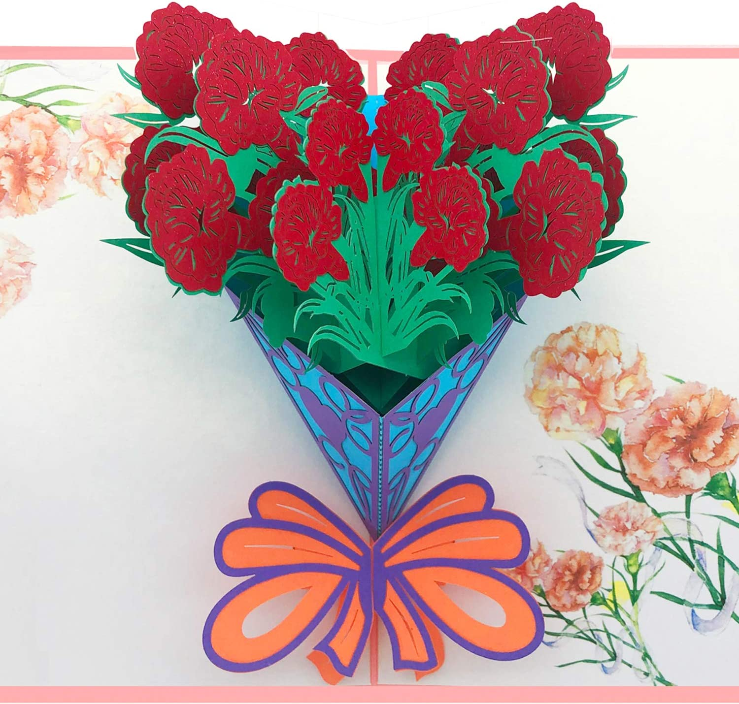 MOTHER BIRTHDAY CARD FOR YOU FLOWERS