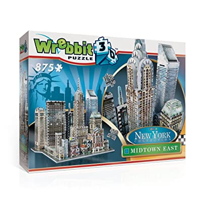 Wrebbit 3D Midtown East Puzzle: Toys & Games
