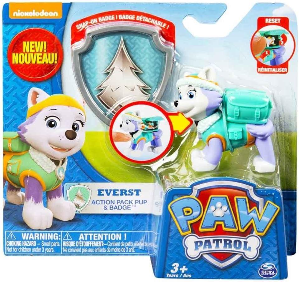 Patrulla Canina - Pack de acción Everest (Bizak 61926600): Amazon.es: Juguetes y juegos