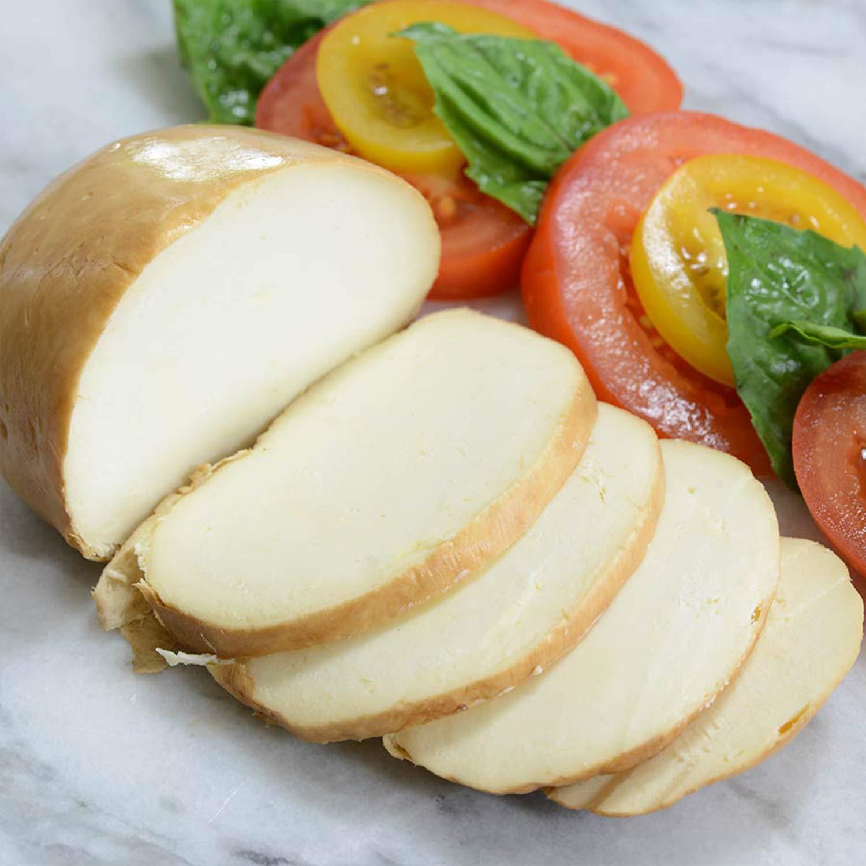 Fresh Smoked Mozzarella - 6 pcs. x 8 ounce - Italian Cheese