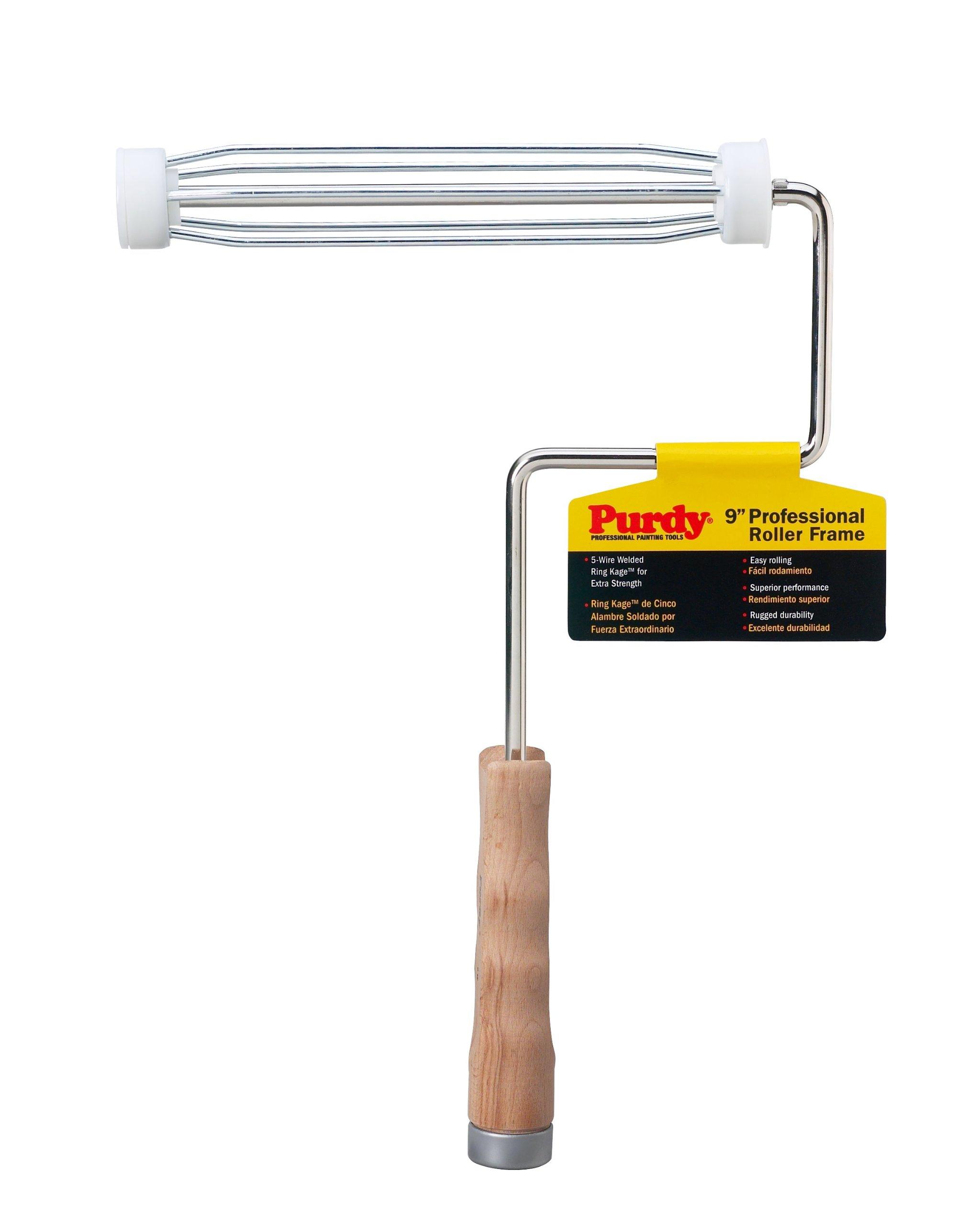 Purdy 14B744009 Wood Handle Roller Frame, 9 inch by Purdy