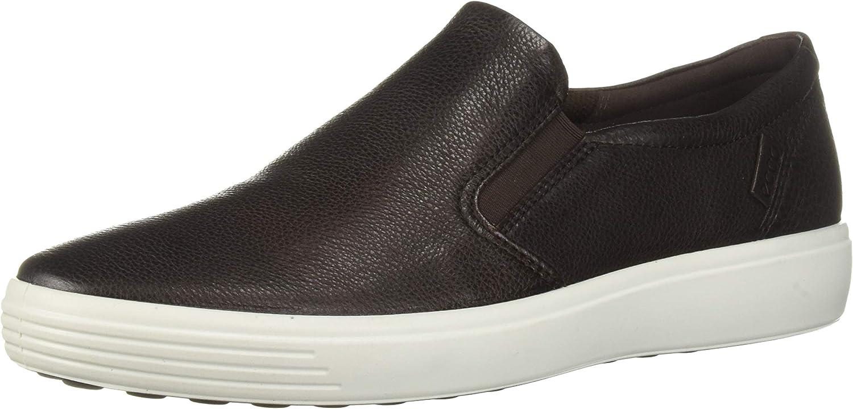 ECCO Men's Soft 7 Casual Loafer Sneaker, Mocha, 49 M EU (15-15.5 US)