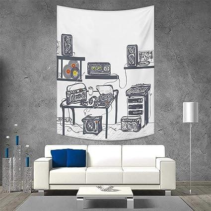 Amazon.com: Pequeño tapiz moderno para colgar en la pared ...