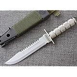 JEO-TEC Nº55 - Cuchillo Bushcraft Campo Supervivencia Caza ...