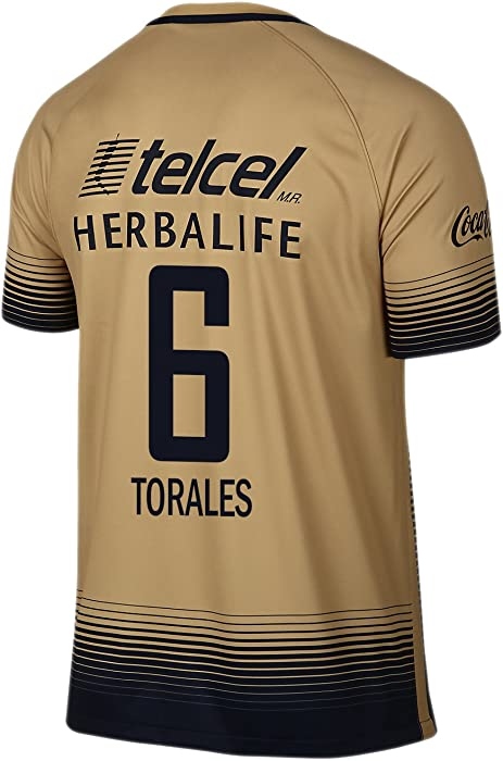 b22c370033d Amazon.com: Torales #6 Pumas UNAM Men Away Jersey 2015-2016 (S): Clothing