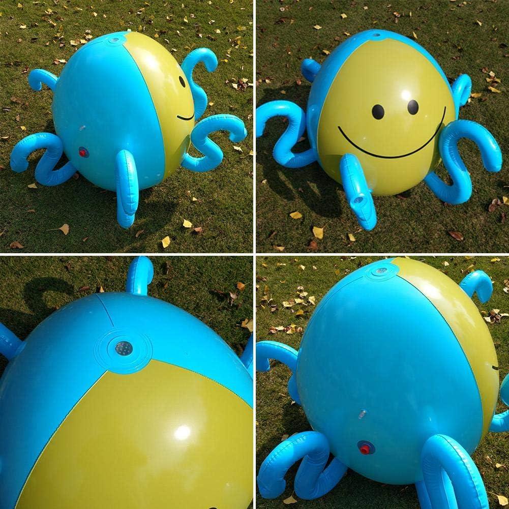 Bola de rociadores inflable Pelota para rociar y rociar para niños ...