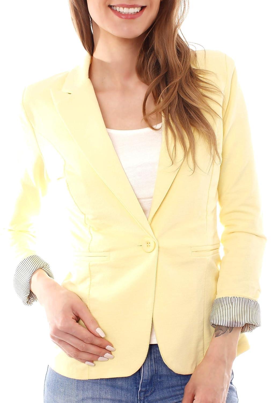 Easy Young Fashion - Chaqueta de Traje - para Mujer