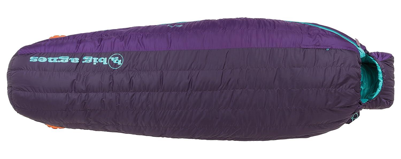 Big Agnes – Ethel 0 Sleeping Bag with Downtek B01N308XCX Regular Left|パープル パープル Regular Left