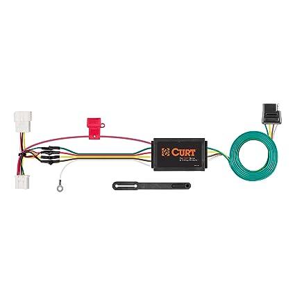 curt 56158 vehicle side custom 4 pin trailer wiring harness for select honda cr v 2014 Honda CR-V