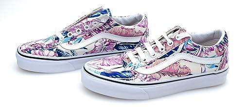 vans scarpe donna fantasia