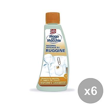Juego 6 mago de manchas ruggine-deodorante limpiadoras Casa