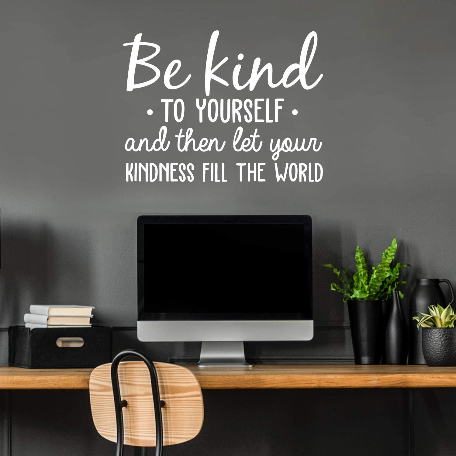 Vinyl Wall Art Decal - Be Kind to Yourself - 22