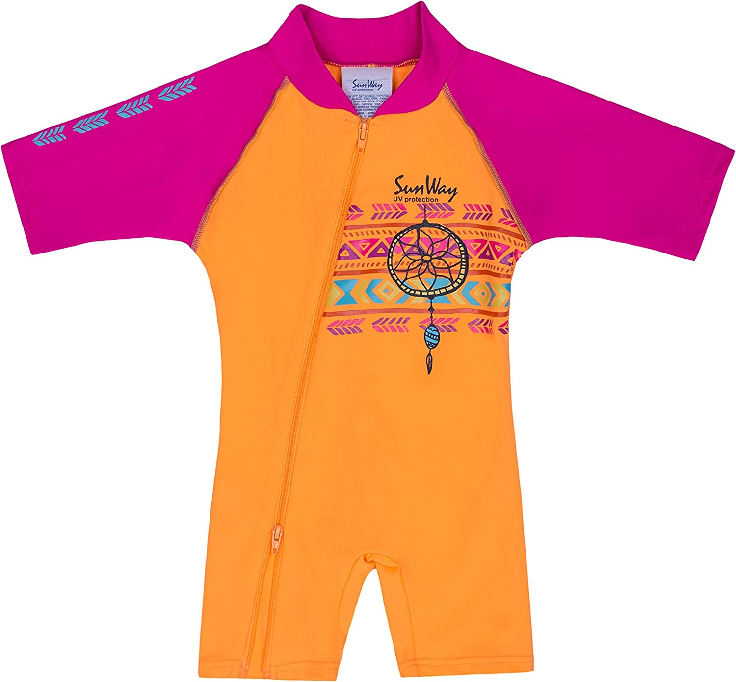6-36 Months Sunway Baby Beach Swimwear One-Piece Swimsuit Sun Protection UV UPF50+