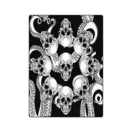 Amazon.com: INTERESTPRINT Skull and Tentacles of Octopus ...