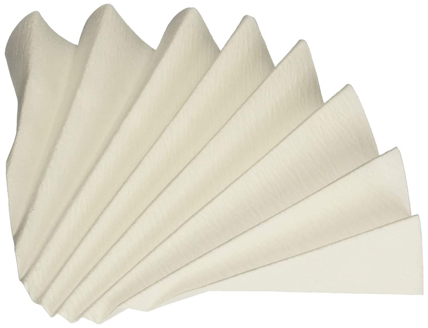 18.5cm Diameter Fast Speed Pack of 100 Creped Surface Circle Prepleated Grade 802 GE Whatman Reeve Angel 5802-185 Qualitative Filter Paper