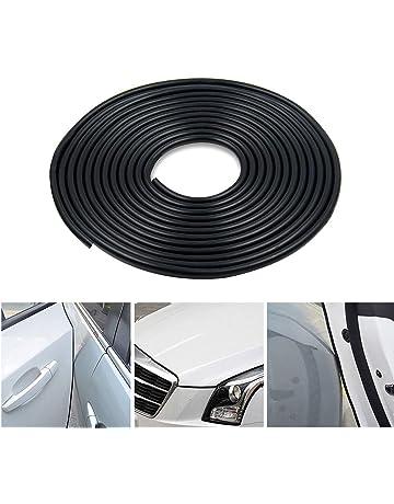 Protezione del bordo della portiera della macchina Anti-sfregamento Protezione anti-collisione 4 pezzi Paraurti della protezione della portiera della macchina grigio