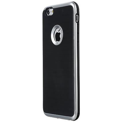 Ultratec Funda Protectora de TPU/Carcasa para iPhone 6 y iPhone 6 Plus con diseño de Contrastes y Borde de Color