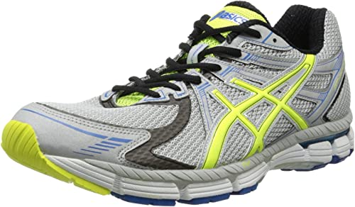 ASICS Herren Gt 2000(tm), SilverNeon YellowBlue, 42 EU