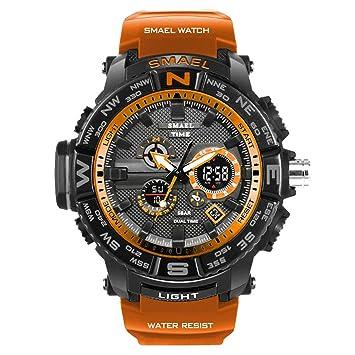 Blisfille Reloj Hombre Militar Reloj para Dormir Relojes Digitales Mujer Reloj Oro Reloj Acero Rosado Mujer: Amazon.es: Deportes y aire libre