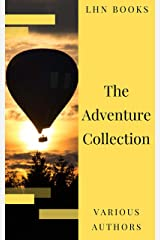 The Adventure Collection: Treasure Island, The Jungle Book, Gulliver's Travels, White Fang... (The Heirloom Collection) Kindle Edition