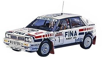 Hasegawa 020343 1/24 Lancia Delta hf16 V Sanremo Rally plástico Maqueta de, Modelo