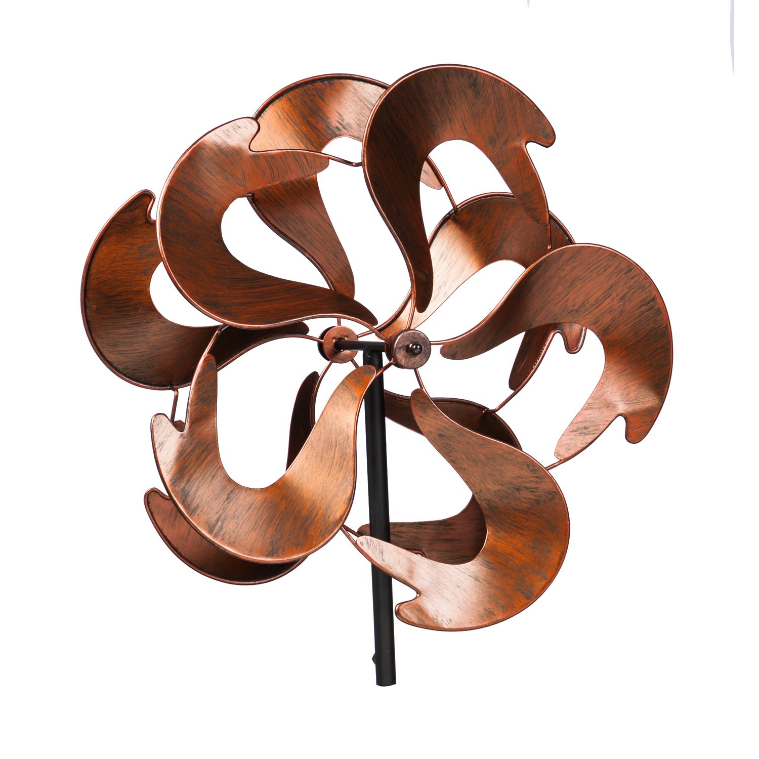 Evergreen Contained Energy Outdoor Safe Kinetic Wind Spinning Topper - Pole Sold Separately