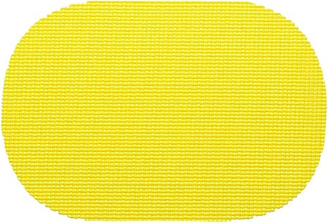Kraftware Fishnet Placemat Set Of 12 Color New Yellow Home Kitchen