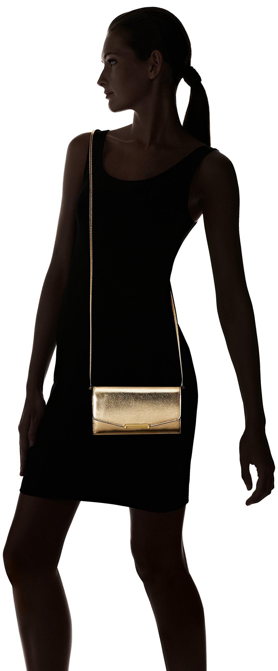 Ivanka Trump Mara Crossbody Wallet-Gold, Metallic Pebble by Ivanka Trump (Image #6)
