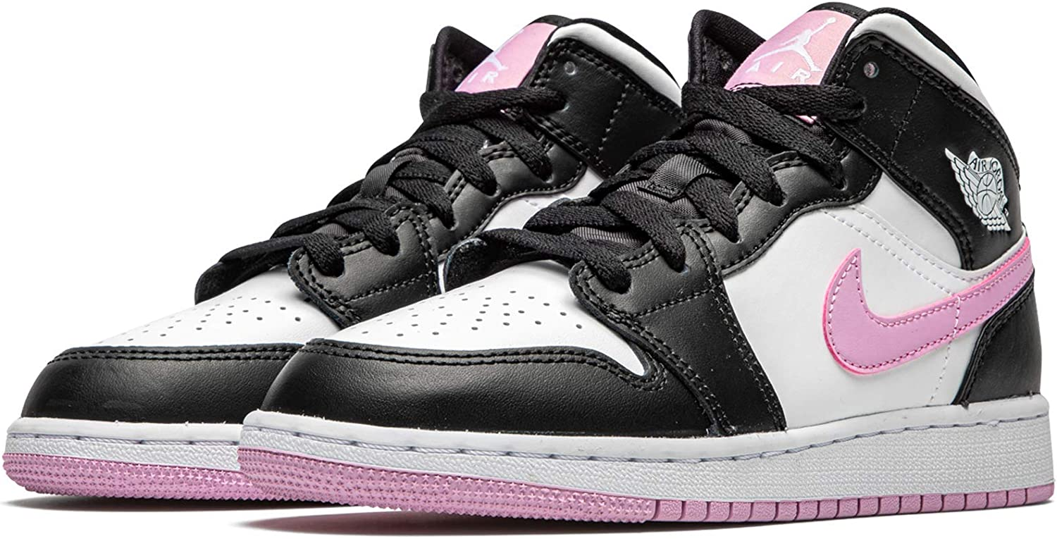 Jordan Air 1 Mid (Gs) Arctic Pink Youth 555112 103 - Size