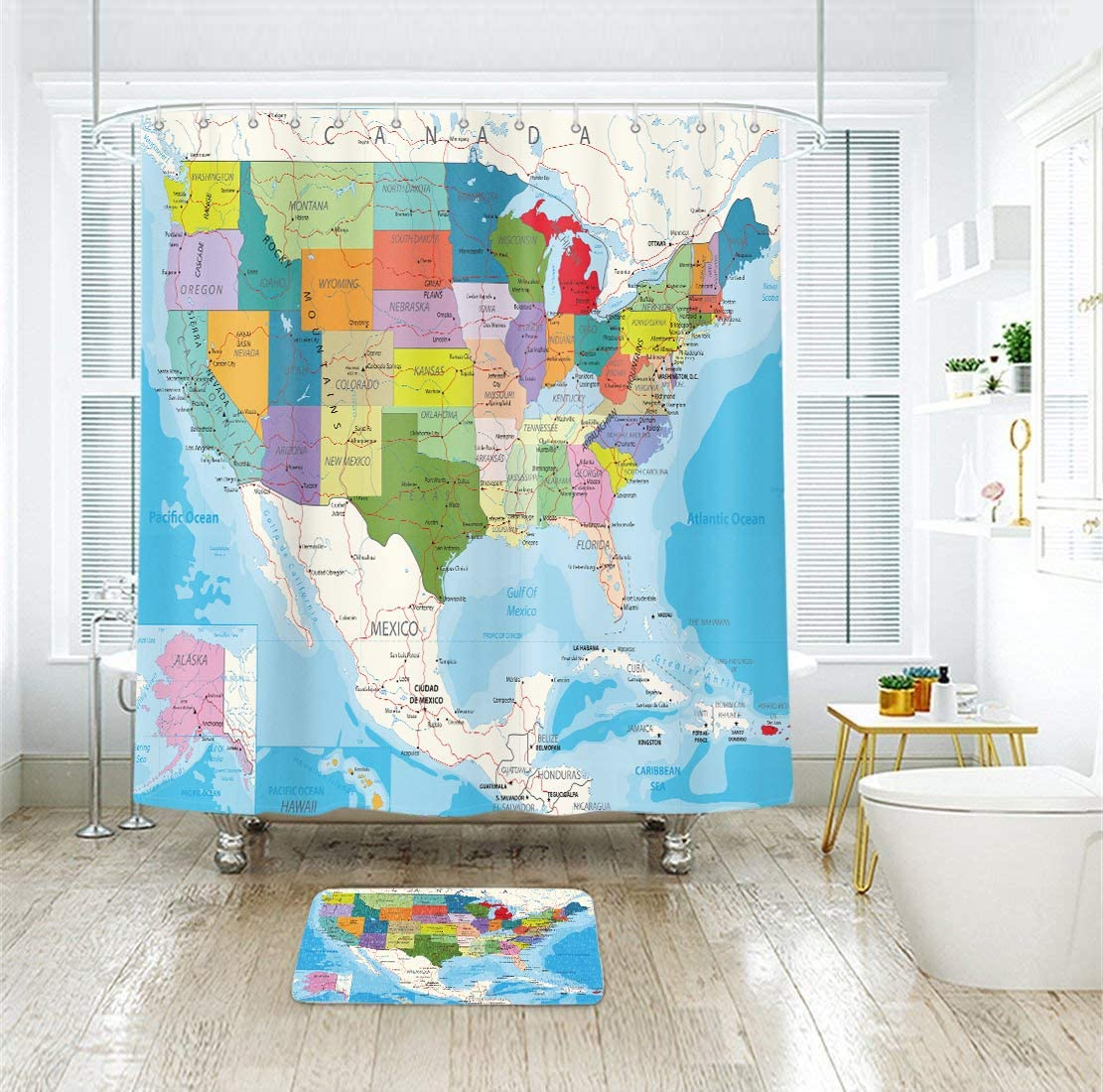 ghdonat.com Home & Kitchen Shower Curtains, Hooks & Liners ...