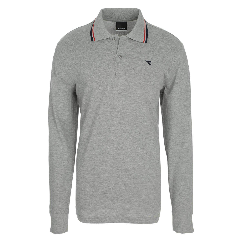 Diadora - Camiseta Tipo Polo Polo PQ LS para Hombre ES S: Amazon ...