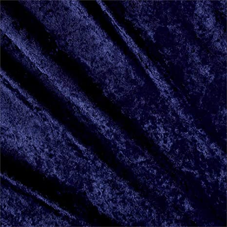 Ben Textiles Stretch Panne Velvet Velour Silver Fabric by The Yard Silver