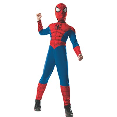 Rubie's 2-1 Ultimate Reversible Spiderman Costume for Kids: Toys & Games