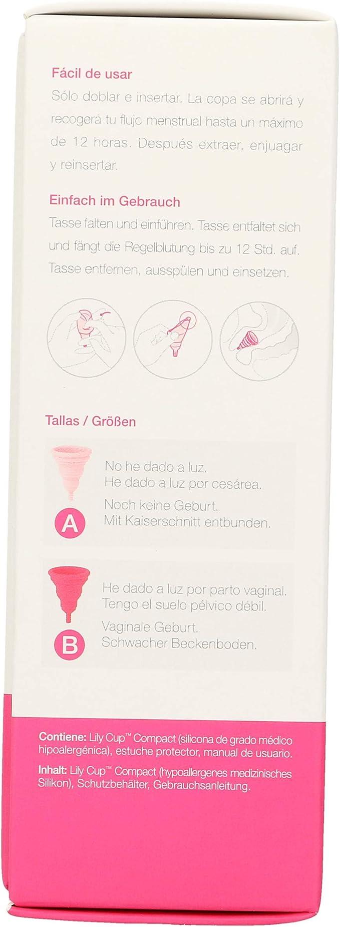 INTIMINA Lily cup compact copa menstrual talla B caja 1 ud ...