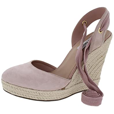 7529d68387d Steve Madden Womens Barre Closed Toe Casual Espadrilles Pink 11 Medium (B