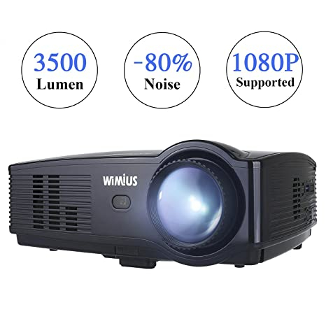 Proiettore Wimius T4 Upgraded 3500 Lumen Videoproiettore Full Hd Led