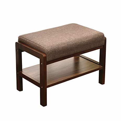 laputa upholstered shoe bench with storage great for entryway or closet lightweight and compact