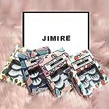 JIMIRE Multipack Beauty Eyelashes-Natural, Wispies, Dramatic, Glamorous