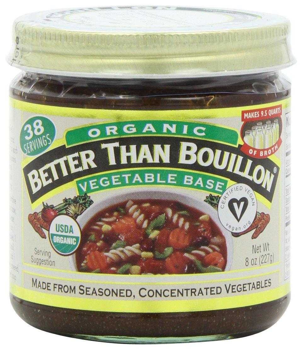 Betterthan Bouillon-Vegetable Base Organic, 8-Ounce (Pack of 3)