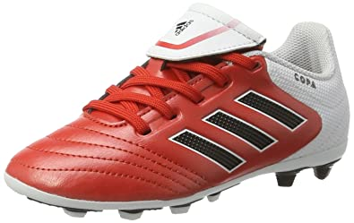 free shipping 618b9 db569 Adidas Copa 17.4 FxG J, Scarpe da Calcio Unisex – Bambini, Rosso (Red