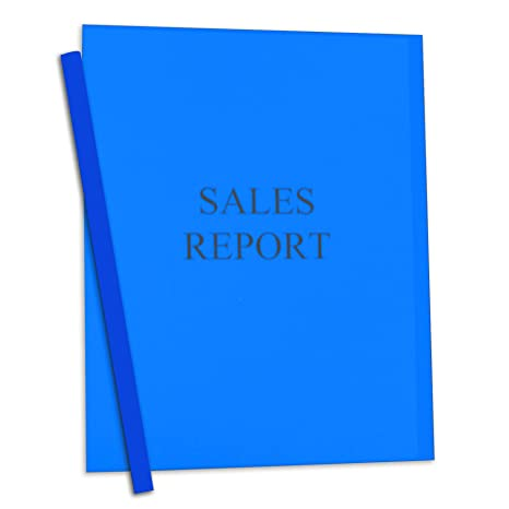 Amazon.com : C-Line Report Covers with Binding Bars, Blue Vinyl ...