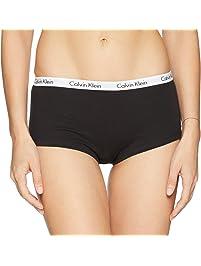 Calvin Klein Womens Carousel Logo Cotton Boyshort Boy Short Panties