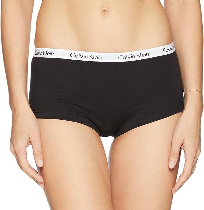 6118a6c84 Calvin Klein Women s Carousel Logo Cotton Boyshort