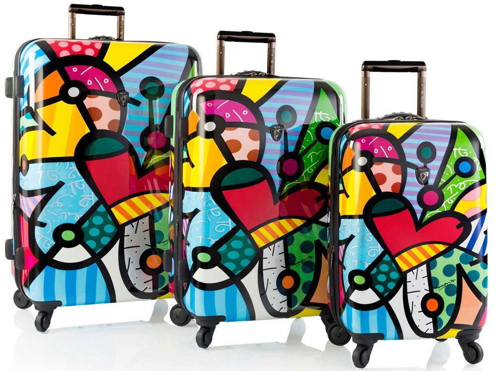 Heys America Britto Spinner - 3 Piece set (Butterfly Love, One Size)
