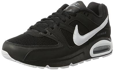 super popular 5ffd4 49fcf Nike Air Max Command, Baskets Basses Homme, Noir (Black White-Cool