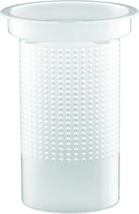 Th/éi/ère /à Piston avec Couvercle et Filtre en Plastique Cr/ème 0,5 L Assam Bodum 1823-945B-Y17