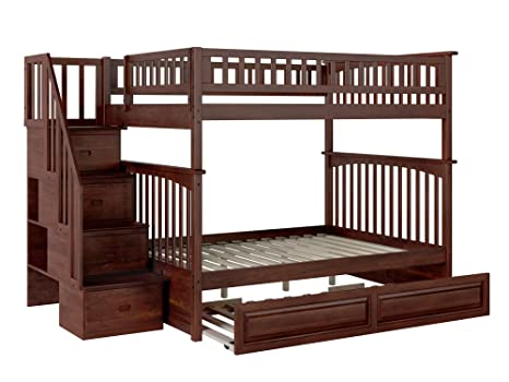 Atlantic Furniture Columbia Staircase Bunk